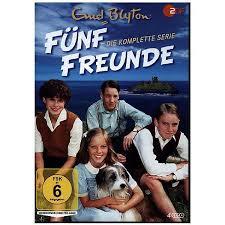 dvd enid blyton fünf freunde die komplette serie 4 dvds fünf freunde