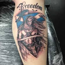 Scottish Warrior Tattoo By Carol Cannon
