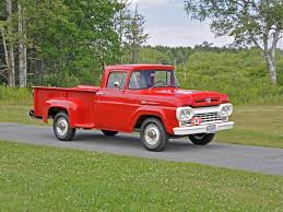 100 F100 Ford Truck Auctions 1960 Pickup Owls Head Transportation