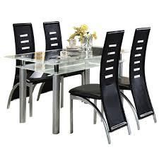 tischgruppe 5tlg 1 esstisch 160x80 cm 4 stühle