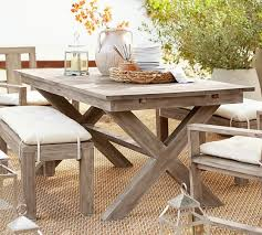 Indio X Base Extending Dining Table