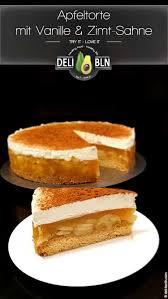 apfel zimt sahne torte mit vanille pudding deli berlin