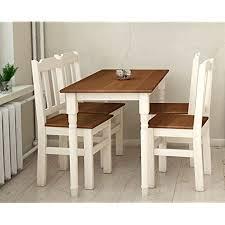 koma essgruppe kiefer holz 120 cm x 70 cm tisch und 4 stühle