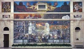 Stalinist Mural Diego Rivera Rockefeller Center by Diego Rivera Detroit Industry Fresco Cycle North Wall 1932 33
