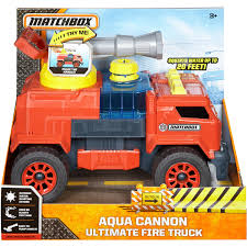 100 Matchbox Fire Trucks Aqua Cannon Ultimate Truck Vehicle Walmartcom