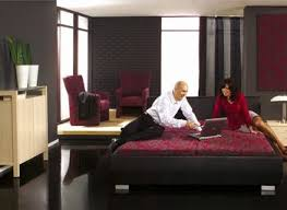 Black Grey Red Bedroom Ideas And Modern