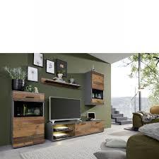anbauwand mango 4 teilig wohnwand glas mdf wood nb matera nb wohnzimmer