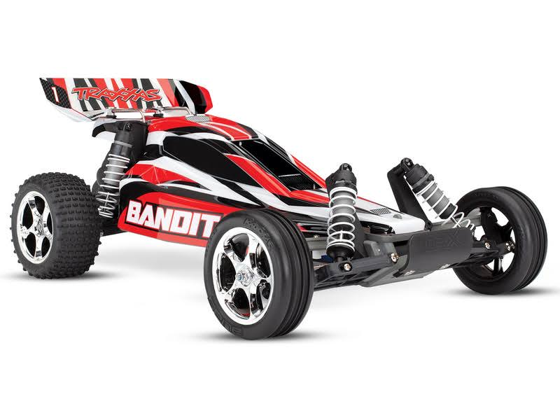 Traxxas Bandit VXL: 1/10 Scale Off-Road Buggy with TQi 2.4GHz Radio System