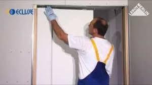 le a poser leroy merlin comment poser une porte coulissante à galandage leroy merlin