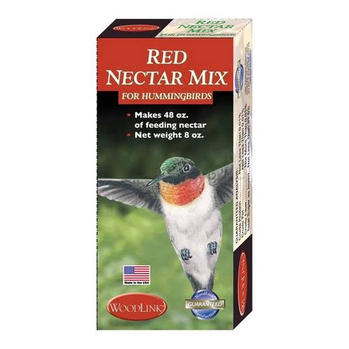 Wood Link 5585 Red Hummingbird Nectar Mix - 8oz