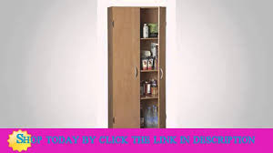 Ameriwood Pantry Storage Cabinet by Details Closetmaid 1556 Pantry Cabinet Espresso Top List Youtube