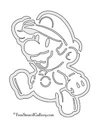 Ghostbusters Pumpkin Stencil Free by Printable Mario Pumpkin Carving Patterns Patterns Kid