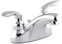 Fix Leaky Bathtub Faucet Two Handles by Kitchen Metal Kohler Kitchen Faucet Repair For Your Kitchen Sink