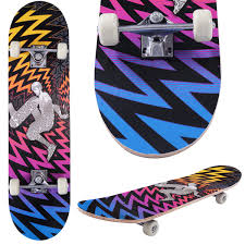 Costway: Costway 31'' X 8'' Professional Kids Skateboard Complete ...