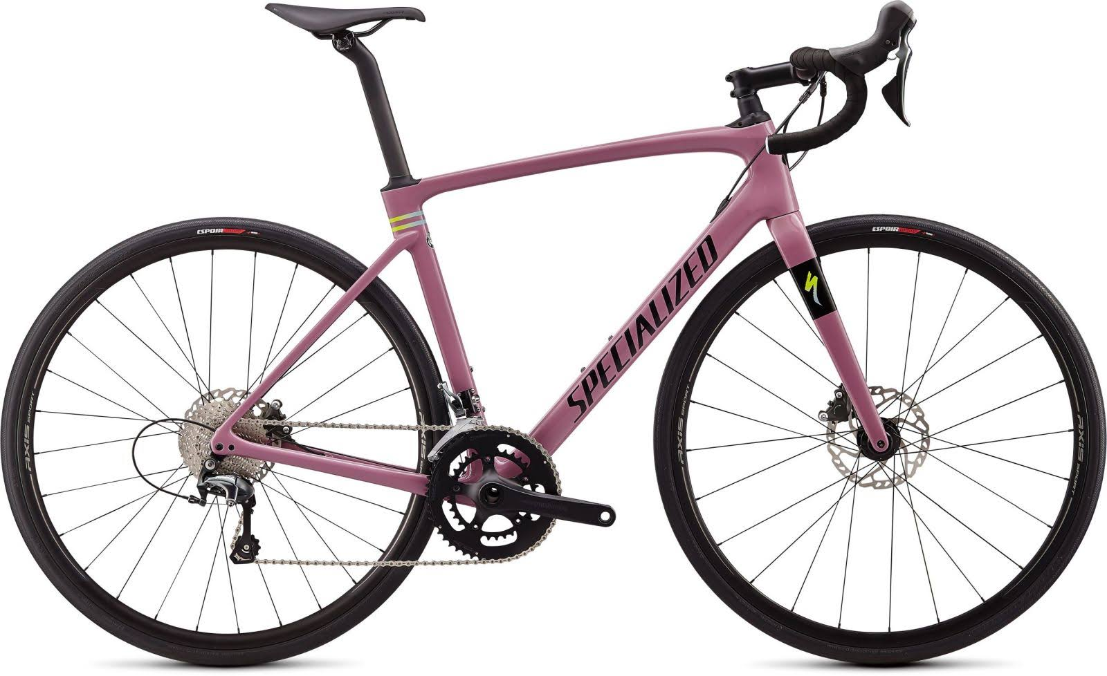 Specialized Roubaix Gloss Dusty Lilac/Summer Blue-Hyper/Black / 54