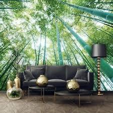 details zu vlies fototapete dschungel bambus wald landschaft pflanzen natur wohnzimmer 12