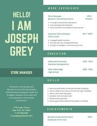 Customize 397 Creative Resume Templates Online Canva With Regard To Images