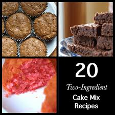 Cake Mix And Pumpkin Puree Muffins by 20 Two Ingredient Cake Mix Recipes Delishably