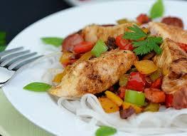 recette de cuisine simple recette simple de poulet au chorizo par cuisine facile la