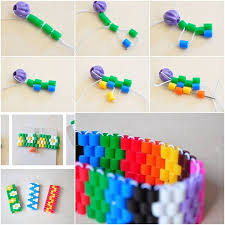 Easy Ways To Make Colorful Bracelet Step By