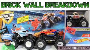 100 Spiderman Monster Truck Hot Wheels MEGALODON ZOMBIE SPIDERMAN Jam S