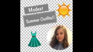 MODEST SUMMER OUTFITS FOR GIRLS 2017