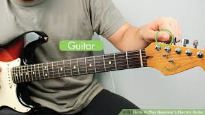 Image Titled Play Beginners Electric Guitar Step 1