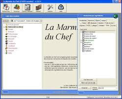 logiciel recette cuisine la marmite du chef télécharger