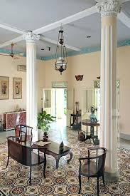 French Colonial Furniture Bright And Airy Interior Of An Old House Ho Chi City