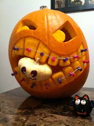 Minion Pumpkin Carvings by Dental Hygienist Pumpkin Dental Hygiene Pinterest Dental