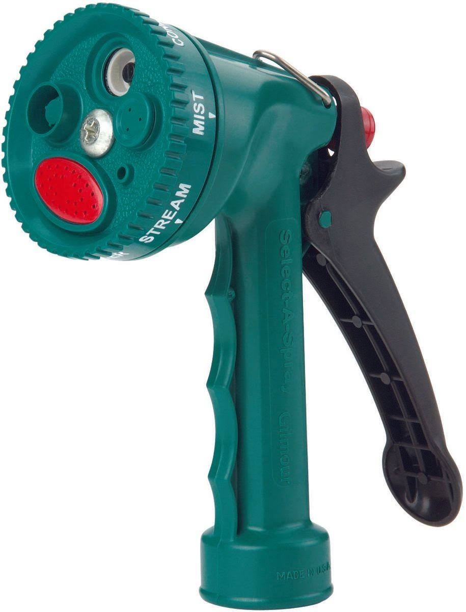 Gilmour Select-A-Spray Pattern Water Hose Nozzle