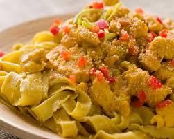 pate de dinde recettes recette pâtes à la dinde et sauce au curry facile rapide
