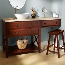 Bathroom Vanity With Built In Makeup Area by Bathroom Vanity With Makeup Counter Home Vanity Decoration