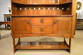 Oak Arts and Crafts Period Scottish School Sideboard or Dresser