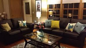 Living Room Decorating Ideas Black Leather Sofa by Cascadecrags Com Living Room