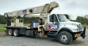 National 14127H Boom Truck Crane On International For Sale Trucks ...