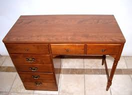 Ethan Allen Dry Sink by Vintage Ethan Allen Heirloom Desk Nutmeg Maple With 4 By Atmelrose