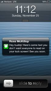 How to Stop Text Messages From Displaying on Your iPhone Lock