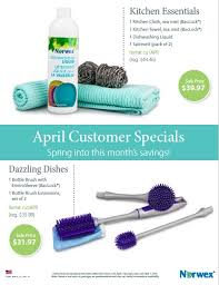 Spring into April savings Norwex Products
