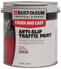 rust oleum皰 industrial flooring tile anti slip traffic paint