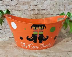 Mcdonalds Halloween Buckets by Halloween Buckets Etsy