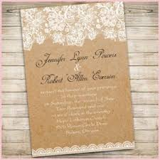 Country Vintage Wedding Invitations Really Encourage Rustic With Free Response Cards