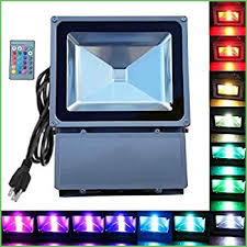 lighting led color changing flood light bulbs ustellar 2 pack