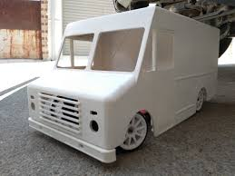 100 Rc Truck Bodys 3D Printed RC Truck Body Delivery 1 10 Scale 3D Print Model By