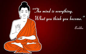 Buddha Think Mind Quotes Wallpaper 05666