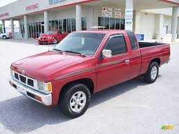 1997 Aztec Red Nissan Hardbody Truck XE Extended Cab #7661655 Photo ...
