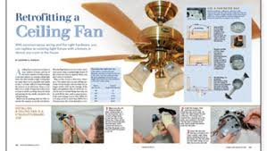 Wobbly Ceiling Fan Box by Ceiling Fans Fine Homebuilding