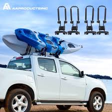 Universal Double Folding Kayak Rack Canoe Boat Surf Ski Roof Top ... How To Strap A Kayak Roof Rack Load Kayak Or Canoe Onto Your Pickup Truck Youtube Apex Carrier Foam Blocks Discount Ramps Best And Canoe Racks For Pickup Trucks Darby Extendatruck W Hitch Mounted Load Extender For Truck Lovequilts Suv Fifth Wheel Thule With Amazing Homemade Bed Home Design Utility 9 Steps With Pictures Amazoncom Rhino Tloader 50mm Towball System Access Adarac The Buyers Guide 2018