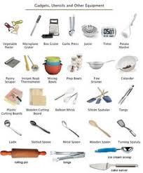 materiel de cuisine en anglais ustensiles de cuisine imagiers ustensile de cuisine
