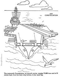 Aircraft Carrier Picture To Color
